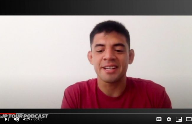 Michael Liera Jr. interviewed on AJP Tour podcast