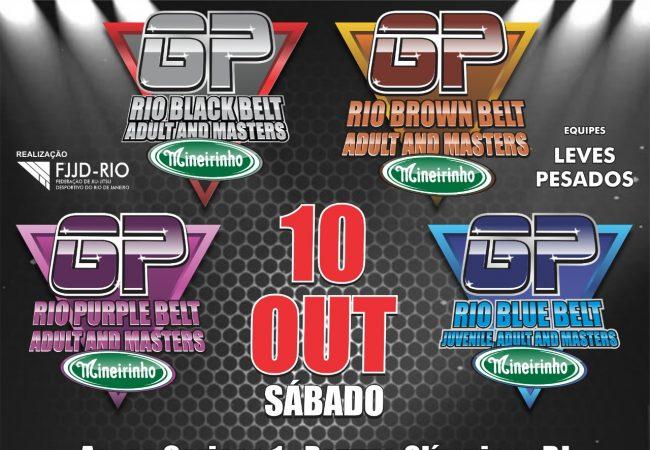 Double Five e Infightempolgadas com o GP Rio de Equipes