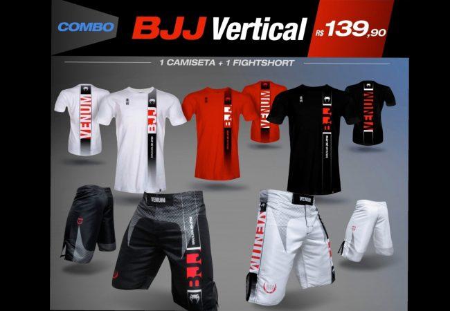 Combo Venum: camiseta + fightshort = 139,90
