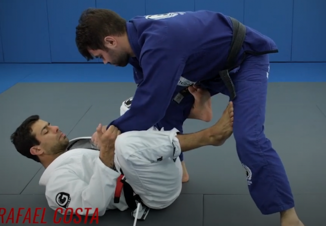 X-guard sweep from the open guard, and more with Rafael Costa