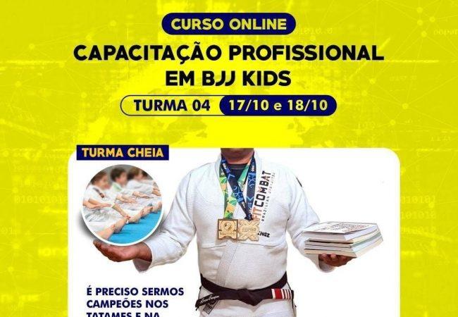 Curso online de capacitação profissional em BJJ kids