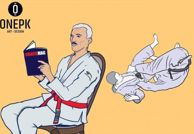 O que diria Helio Gracie ao ler sobre berimbolo na GRACIEMAG?