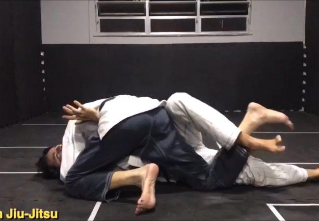 Marcus Meira (Action Jiu-Jitsu) ensina saída do cem-quilos