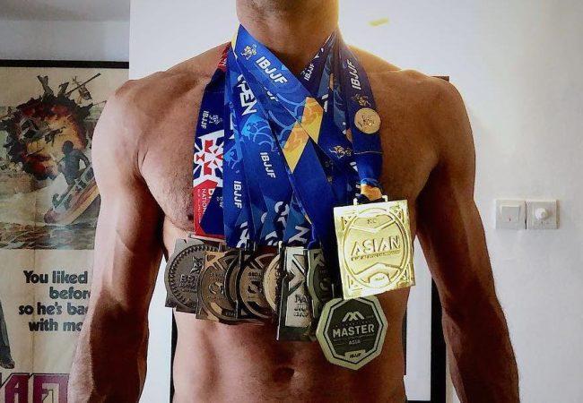 How to win jiu-jitsu medals — lots of them