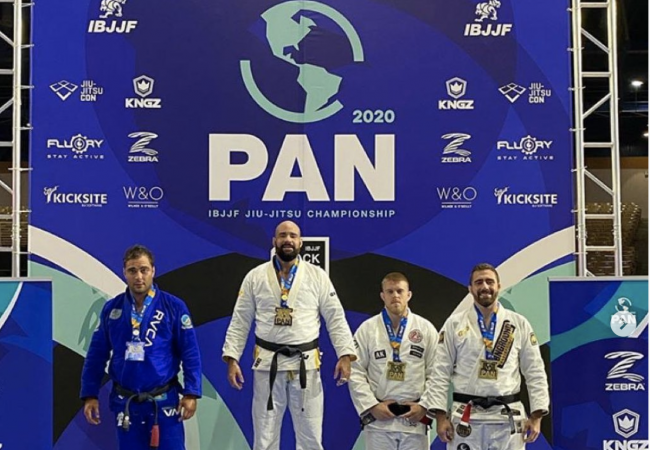 New dad Max Gimenis celebrates Pan title and looks ahead: 'Hungry for victory'