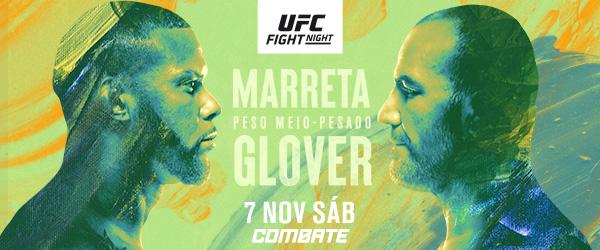 Brasileiros Thiago Marreta e Glover Teixeira se enfrentam na luta principal do UFC Vegas