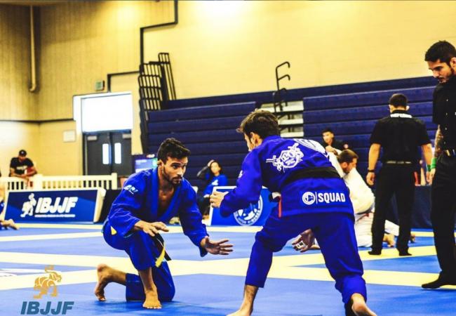 The concept you need to 'become a backpack' in jiu-jitsu