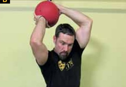 Training for Warriors: Build range of motion by slamming a medicine ball