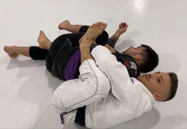 Alejandro Carreras ensina atalho para pegada de costas na Focus Jiu-Jitsu