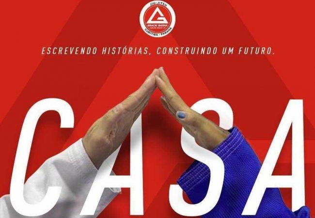 """Nika Schwinden explica o projeto """"Casa"""" para jovens atletas na Gracie Barra Curitiba"""