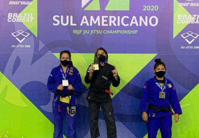 Ershiley Kessy ensina sua finalização dourada do Sul-Americano de Jiu-Jitsu 2020