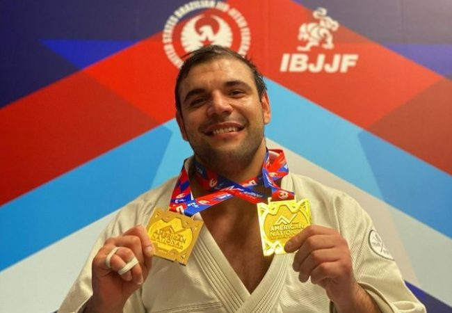 João Gabriel Rocha wins double gold at the American Nationals