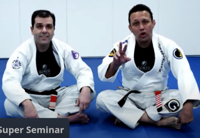 Catch an hour-long seminar with Renzo Gracie