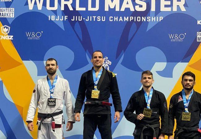 Ítalo Lins vibra com título mundial master e chegada da filha