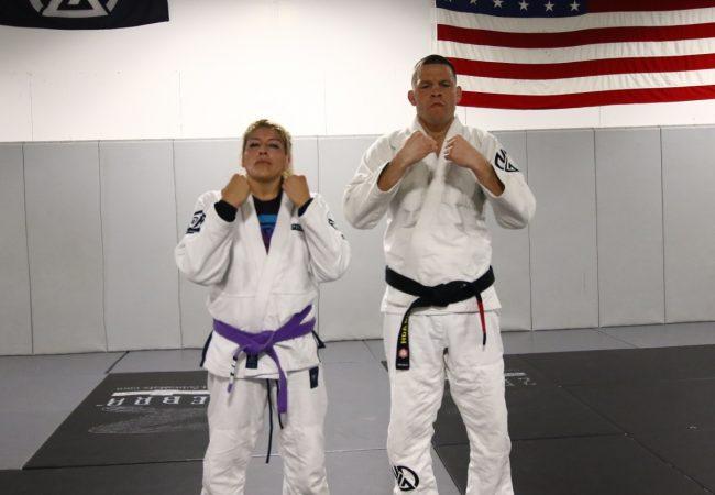 O treininho de Jiu-Jitsu solto e eficaz de Nate Diaz na Califórnia