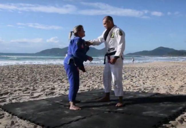 Matheus Zimmermann ensina Jiu-Jitsu e defesa pessoal nas praias de Floripa