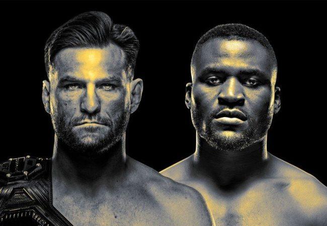 Vídeo: Francis Ngannou nocauteia por cinturão e Vicente Luque finaliza no UFC 260