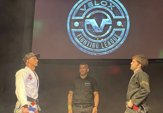 Ninja Pinto celebrates the success of Velox Fight League 3 in the U.S.