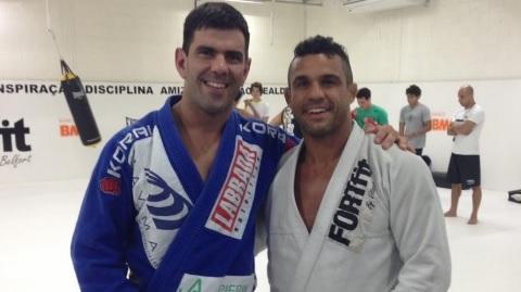 As lições do GMI Rodrigo Cavaca ao treinar Vitor Belfort para o UFC