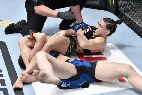 Reveja o armlock vencedor de Mackenzie Dern no UFC Vegas