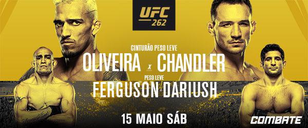 Vídeo: Jacaré finalizado, nocaute de Charles do Bronxs e mais imagens do UFC 262