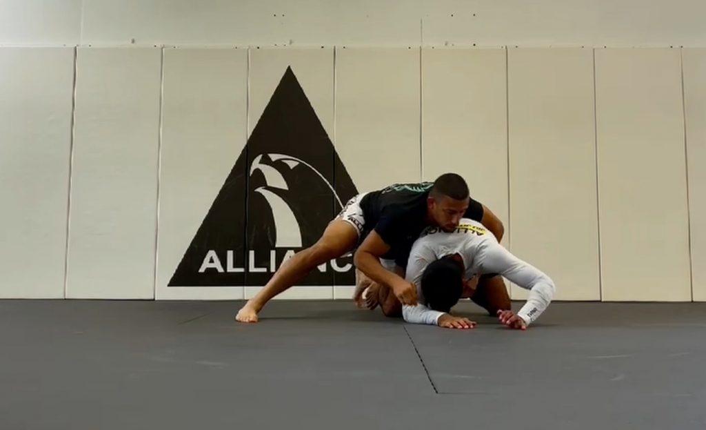 Drills: Jiu-Jitsu sem kimono na Alliance KB, Flórida