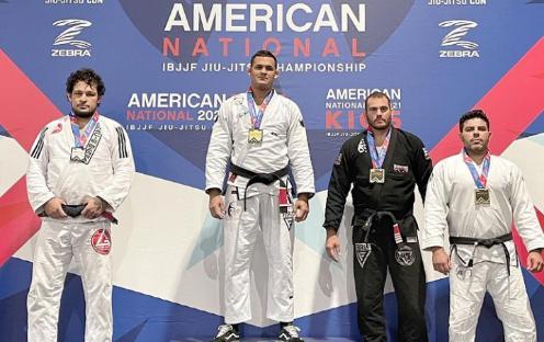 Fellipe Andrew e Elisabeth Clay são ouro no American National