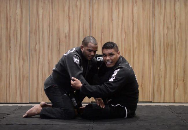 Léo Peçanha e o detalhe para raspar de gancho no Jiu-Jitsu