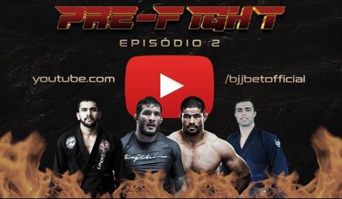 """Com Hulk e Toquinho, BJJBet lança o segundo episódio do """"Pré-Fight"""""""