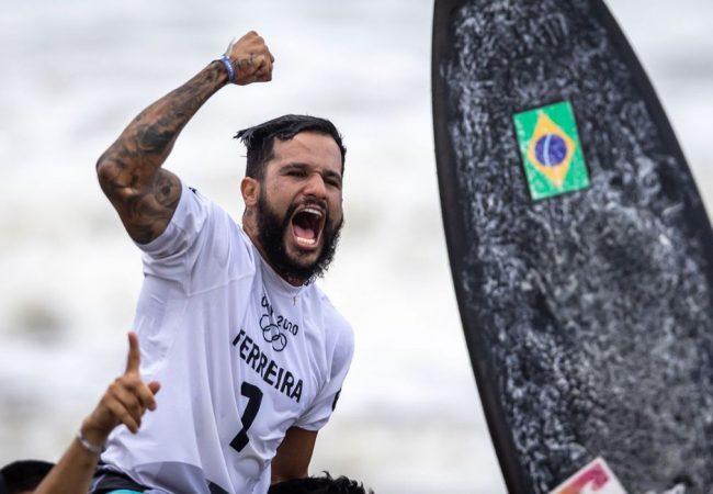10 lições de garra de Italo Ferreira, ouro no surfe em Tóquio-2020