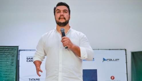 Daniel Borges e o caminho até o II  Brasileiro de Parajiu-Jitsu
