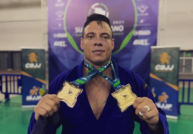 Wallace Costa e Ingridd brilham com ouro duplo no Sul-Americano 2021