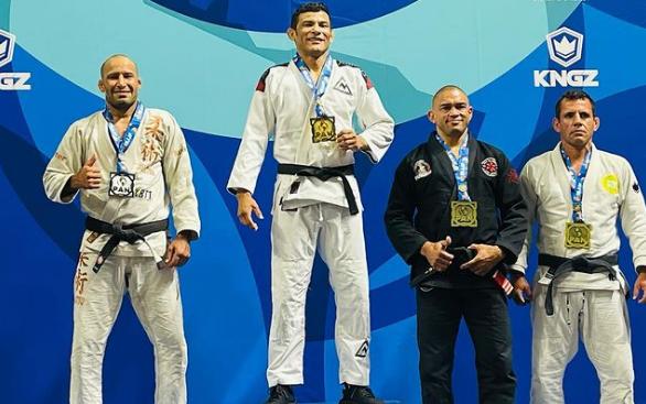 Alex Martins e a determinação para alcançar o ouro no Pan de Jiu-Jitsu